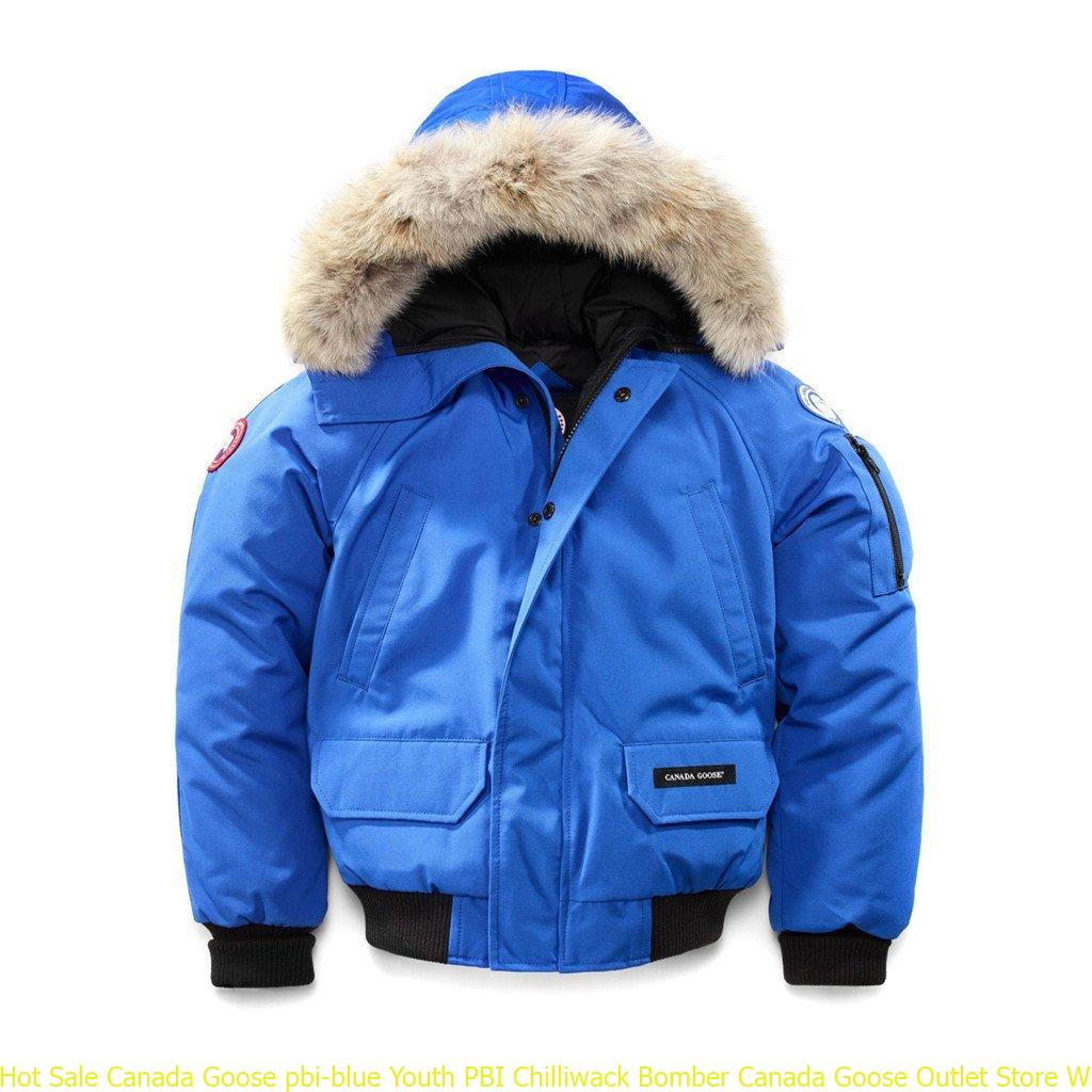 Hot Sale Canada Goose pbi-blue Youth PBI Chilliwack Bomber Canada Goose  Outlet Store Winnipeg 6605102533 80cd639f3ba1